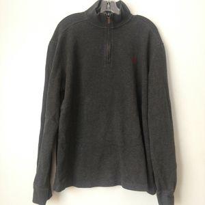 Polo Ralph Lauren XL quarter zip pullover sweater
